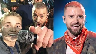 5 Best Moments from Justin Timberlake's Super Bowl 52 Halftime Performance