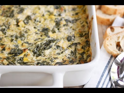 The Best Spinach Artichoke Dip EVER!