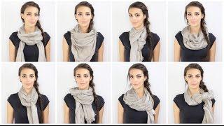 Comment porter une écharpe ou un foulard ?
