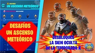 "MYSTERY CHALLENGES ""A METHETICAL ELEVATOR"" *SKIN HIDDEN* SEASON X - FORTNITE"