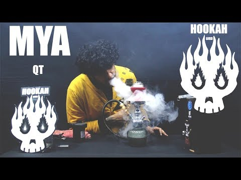 HOW TO SETUP HOOKAH | HOW TO GET DENSE SMOKE | MYA QT HOOKAH | HOOKAH LORD