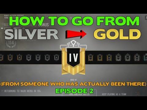 Rainbow Six Siege Tips    How to Rank Up from Silver to Gold Ep. 2