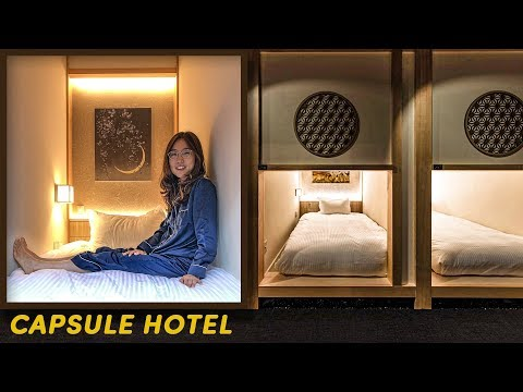 ZEN CAPSULE HOTEL In Tokyo, Japan