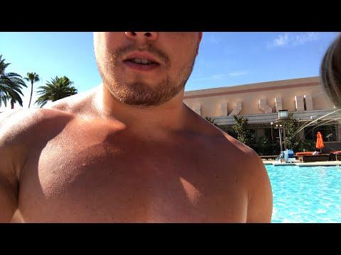Kamfit Live! Las Vegas pool.