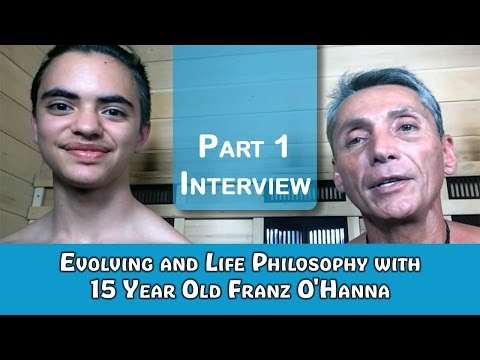 Evolving and Life Philosophy with 15 Year Old Franz O'Hanna | Interview | Dr. Robert Cassar