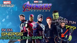 Ini Dia Sinopsis Avengers End Game Dan Promo Material Yang Nunjukin Professor Hulk