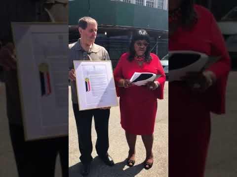 Proclamation in honor of Ms. Lillian M. Popp: Educatior