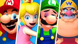 Evolution of Funny Super Mario Sports Moments (2000 - 2019)