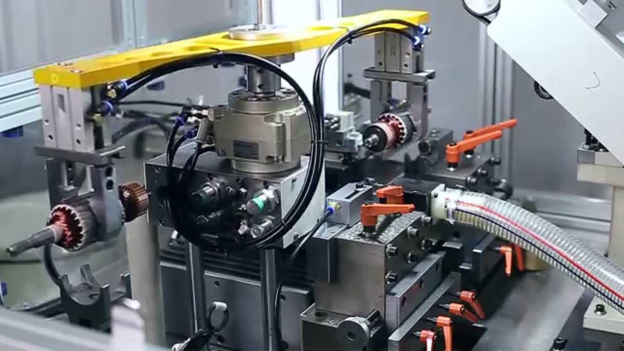Machine Assembly Line