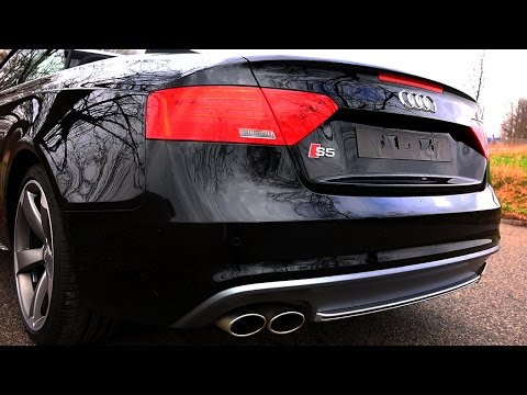 Audi S5 Sound Exhaust Revving REVS Acceleration Launch Control Beschleunigung