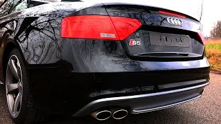 Audi S5 Sound Exhaust Revving REVS Acceleration Launch Control Beschleunigung