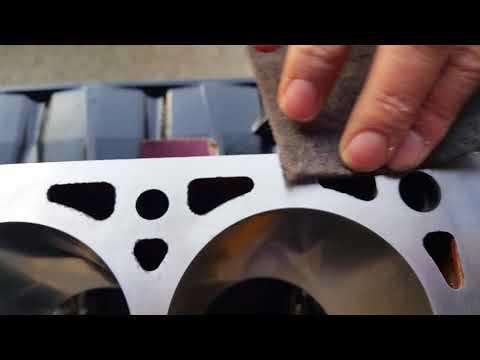Head gasket surface repair/blend