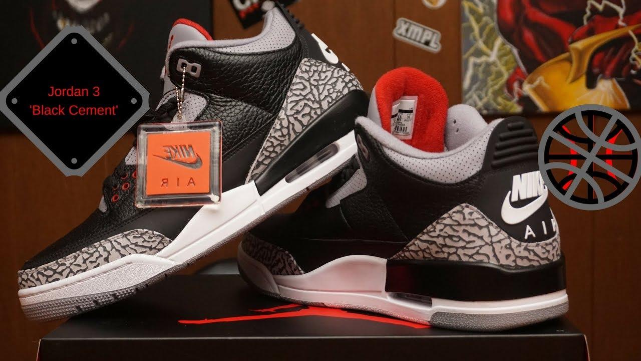Jordan 3 Retro OG 'Black Cement' [unboxing]