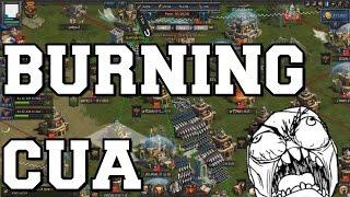 BURNING CUA HIVE & THUNDER RALLIES ME LOL (CLASH OF KINGS)
