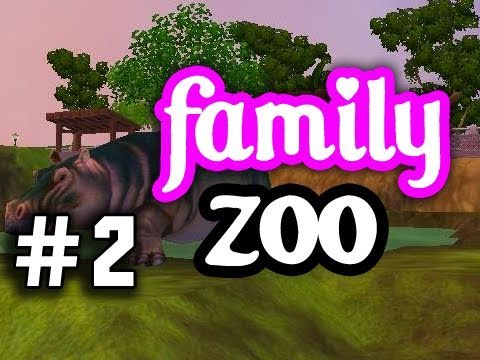 Zoo Tycoon - The Family Zoo! Episode 2 - Sharks, Hippos, and Path Building