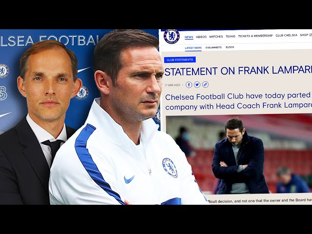OFFICIAL: CHELSEA SACK LAMPARD AND HIRE THOMAS TUCHEL! | Winners & Losers