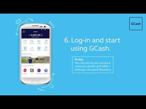 How to register to GCash