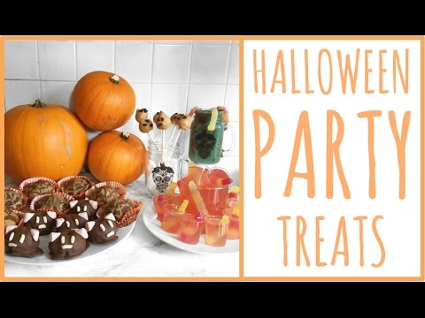 HALLOWEEN PARTY TREATS | VEGAN