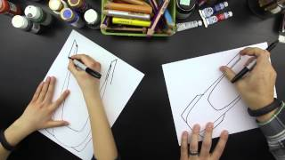 How To Draw A Bobsled