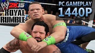 WWE 2K15: ROYAL RUMBLE | PART 1 | PC Gameplay | 1440P / 2K