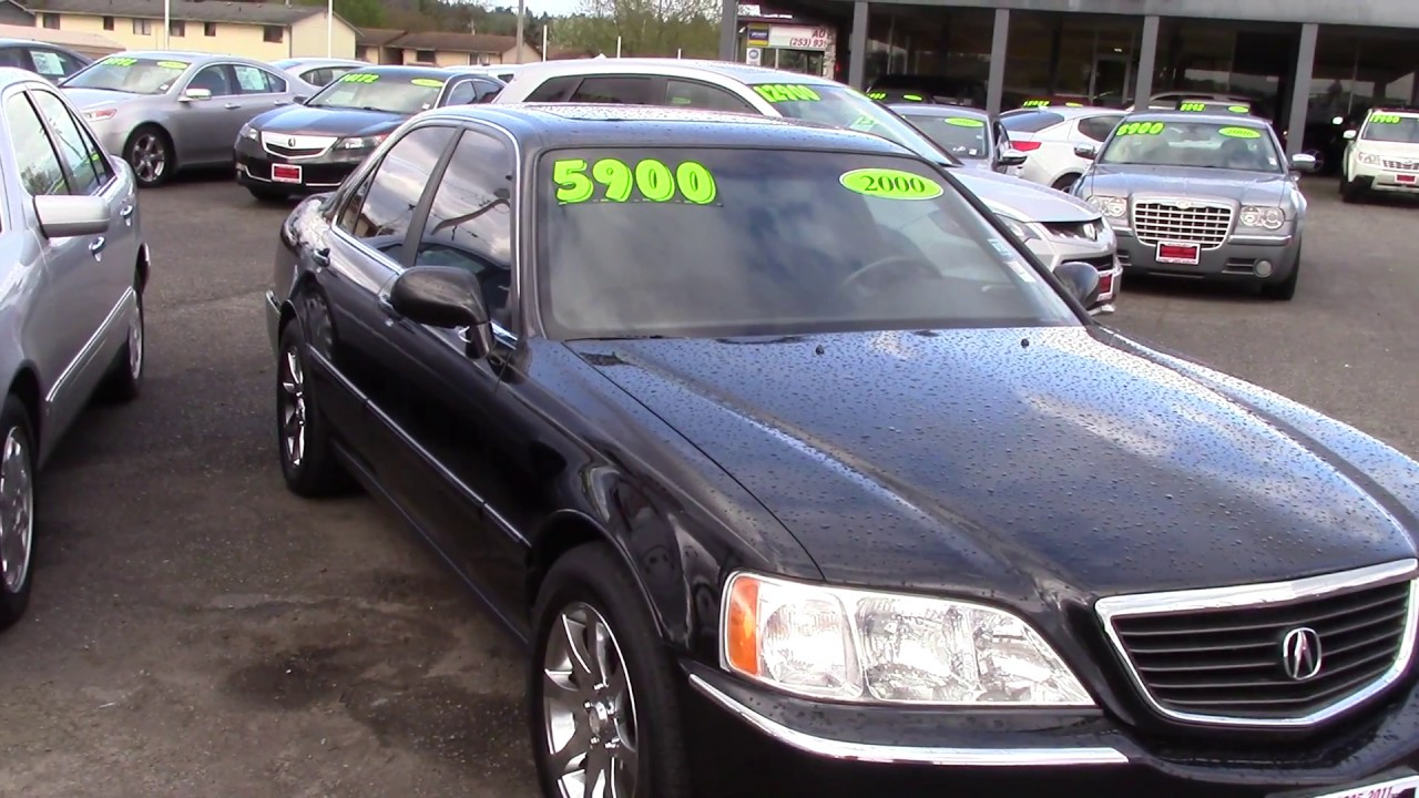 2000 acura rl 3 5 stock 96985 at sunset cars of auburn. Black Bedroom Furniture Sets. Home Design Ideas