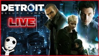 Ich starte in Detroit Become Human! - Blind 🔴 Detroit: Become Human // PS4 Livestream