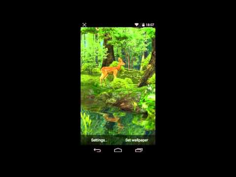 3d deer nature live wallpaper apps on google play - Hunting wallpaper for android ...