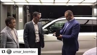 Олегу Саитову в Самаре подарили белый Mercedes