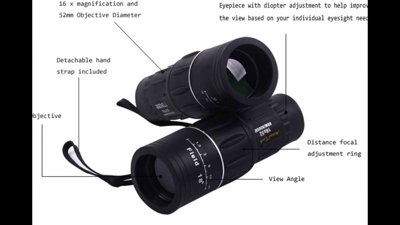 Miluo tech dual focus monocular telescope youtube