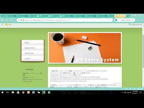 MIXT government of Japan Internship Program