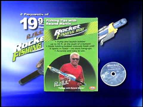 Rocket fishing rod drtv youtube for Rocket fishing rod video