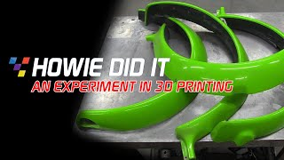 Howie Did It - An Experiment in 3D Printing