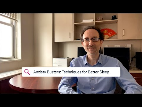 STAY STRONG – Anxiety Busters: Techniques for Better Sleep
