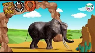 HAYVANLAR ALEMİ - İsimlerle Hayvanat Bahçesi - Yeni Video -  Eğitici Çocuk Videosu