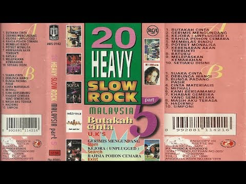 20 Heavy Slow Rock Malaysia Part.5 Full Album