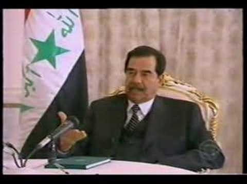 The Irony of Truth Video 1 - Saddam's Last Interview