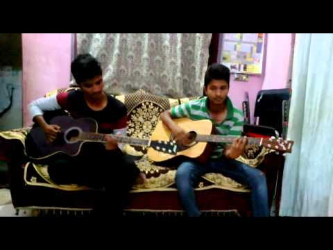 O O Jaane jaana guitar lesson - YouTube