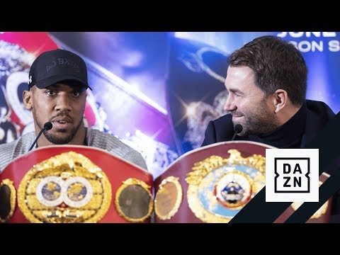 HIGHLIGHTS | Joshua vs. Miller London Press Conference
