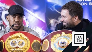 HIGHLIGHTS | Joshua vs. Miller London Press Conference