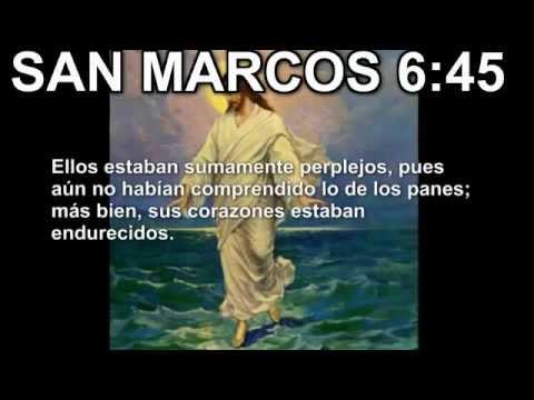 Evangelio según San Marcos 6 45 Cristo camina sobre las aguas.flv