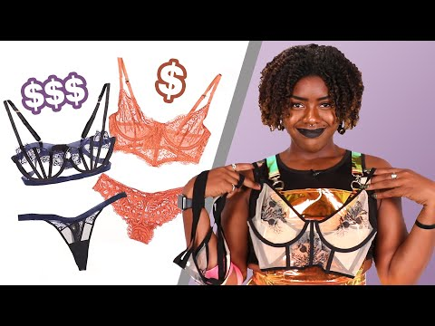 We Tried Bargain Vs. High-End Lingerie