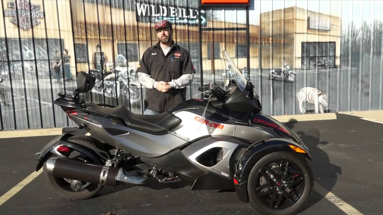2011 Can Am Spyder Rs S Sm5 Youtube