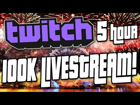 """""""THE LONGEST LIVESTREAM EVER RECORDED IN LIFE!"""" - [100k Live Stream Twitch Highlights]"""