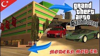 HAZIRLAMIŞ OLDUĞUM İLK KAPSAMLI MOD - GTA SAN ANDREAS MODERN MOD TR 2005 + DOWNLOAD