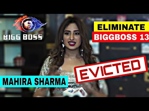 Mahira Sharma Out From Bb 13 Eviction Interview Of Mahira Sharma Elimination