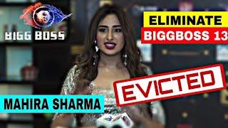 Mahira Sharma out from bb 13, Eviction interview of Mahira sharma ELIMINATION