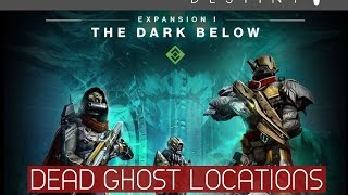 Destiny - The Dark Below - All Dead Ghosts Locations (Ghost Hunter Achievement / Trophy)