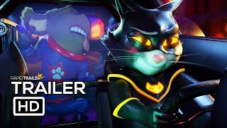 STARDOG AND TURBOCAT Official Trailer (2019) Luke Evans, Nick Frost Animated Movie HD