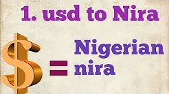 USD to nigerian naira | usd to ngn | dollar to naira | naira to dollar | 1 dollar to naira