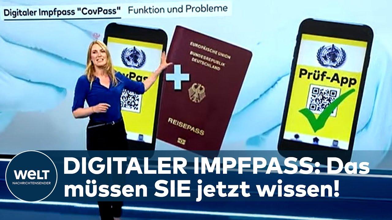 Digitaler Impfpass Covpass App Das Mussen Sie Uber Die Neue Bescheinigung Wissen Youtube